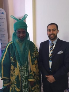 suhail ahmad with his excellency emir of kano nigeria